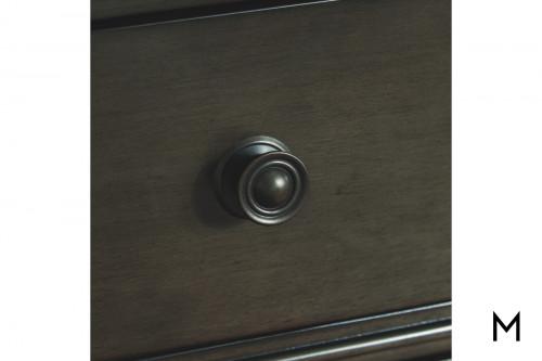 Devensted Dresser with Bronze Finish Metal Hardware