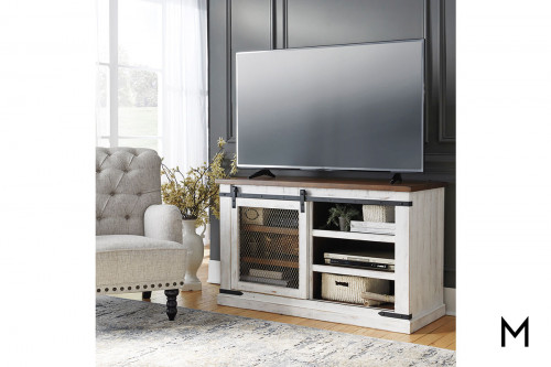 Wystfield Medium TV Stand with Shelves