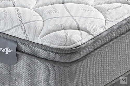 Mattress 1st Beverley Euro Top Plush Mattress - Queen with 520 Mira-Coil®