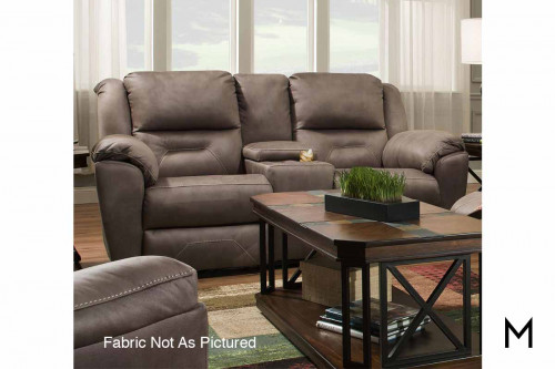 M Collection Pandora Reclining Console Sofa