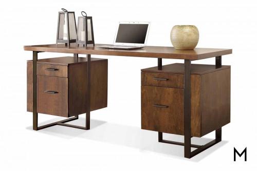 Terra Vista Pedestal Desk