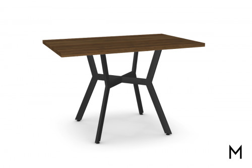 Norcross Dining Table with Distressed Birch Top
