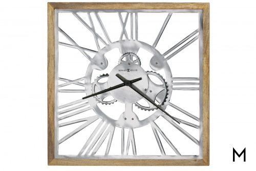 Mecha Square Wall Clock