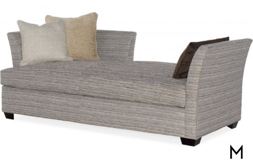 Daybed Lounger with 3 Accent Pillows