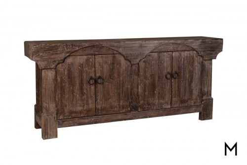 Columbia 4 Door Buffet made of Reclaimed Wood