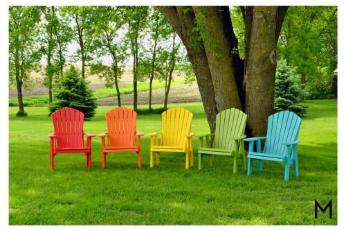 Lime Green Premium Patio Chair