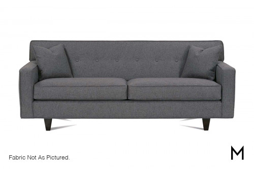 Contemporary Sofa with Button Tufting