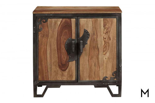 Ellerwood Accent Cabinet with Metal Detailing