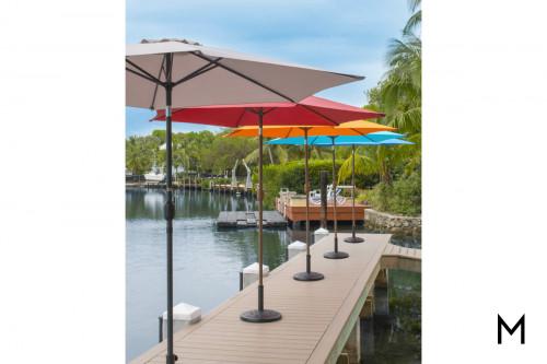 9-Foot Patio Umbrella with Crank