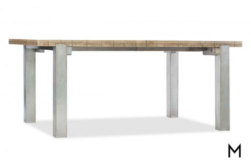 "Urban Elevation 72"" Table with Metal Legs"