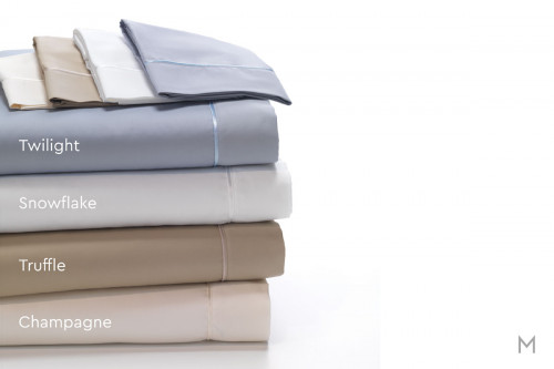 Degree 4 Egyptian Cotton Sheet Set - Split King in Champagne