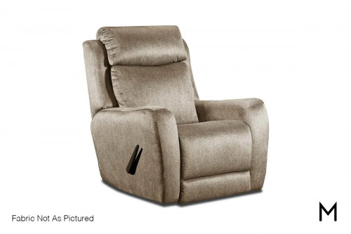 M Collection View Point Recliner in Cyber Space Charcoal