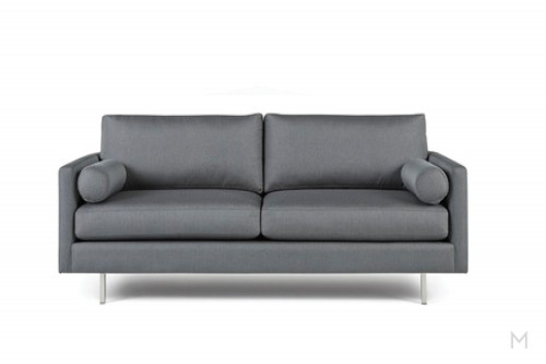 Edie Sofa with metal legs