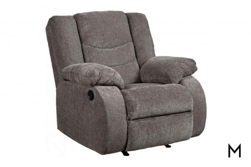 Tulen Rocker Recliner in Gray