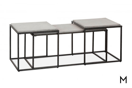 Industrial Bunching Cocktail Table