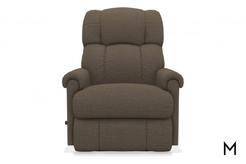 Pinnacle Wall-Saver Recliner in Chocolate Brown