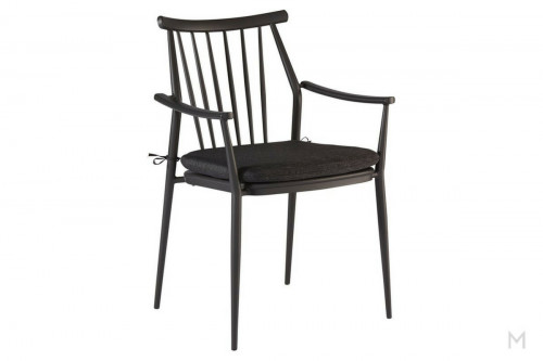 Darrow Arm Chair in Black