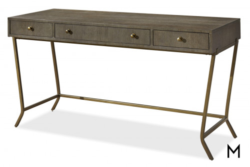 Playwright 3-Drawer Writing Desk