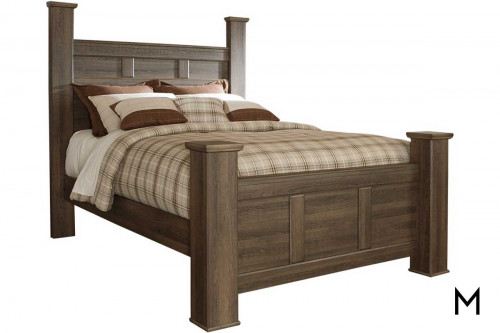 Juararo Queen Poster Bed in Queen