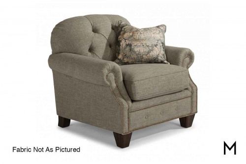 Champion Accent Chair in Sisal