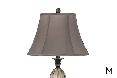 Antigo Smoked Table Lamp