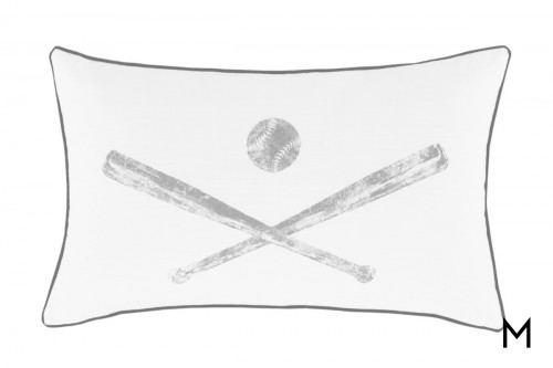 Waman Baseball Pillow