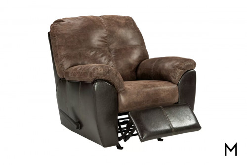 Gregale Recliner in Coffee