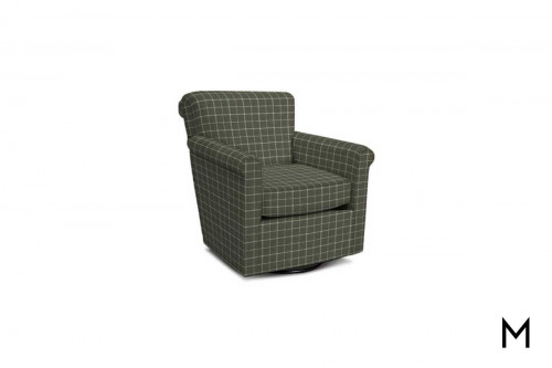 Cunningham Swivel Chair in Sterlington Smoke