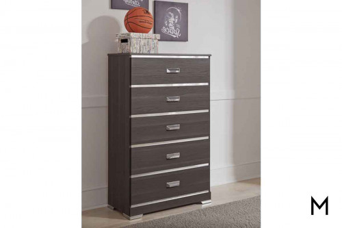 Annikus 5 Drawer Chest