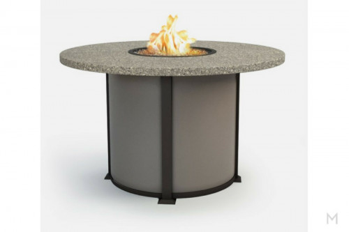 "Stonegate 54"" Round Fire Table"