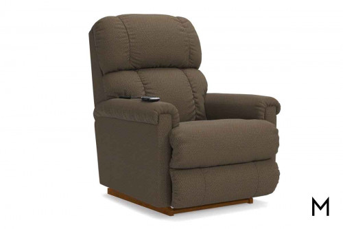 Pinnacle Power Rocker Recliner with Remote in Shona Granite