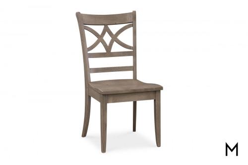 Diamond Wood Dining Chair