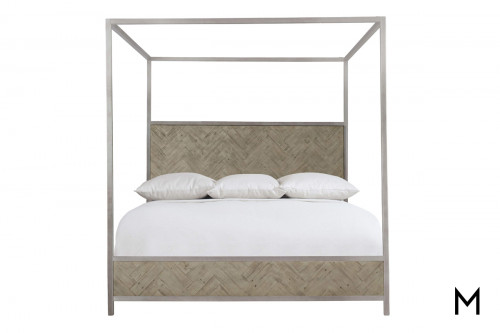Canopy Plank King Bed