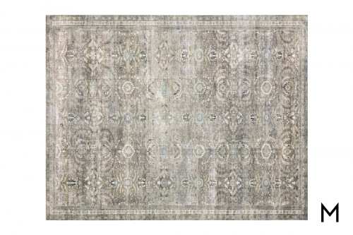 Layla Antique Moss Area Rug 5'x7'