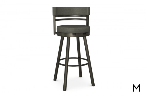 Ronny Bar Stool with Swivel Padded Seat
