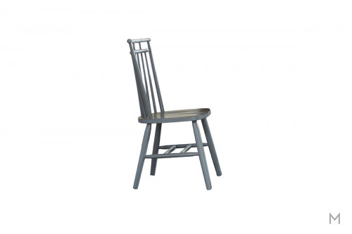 Creations II Wooden Dining Side Chair in Blue