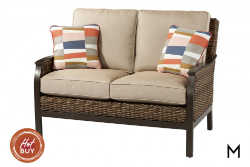 M Collection Trenton Loveseat