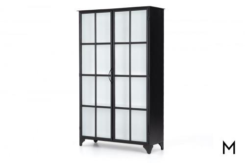 Modern Glass Door Cabinet