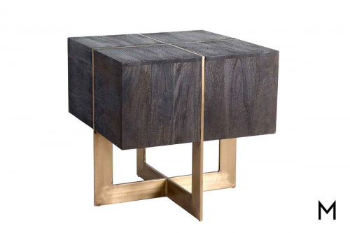 Desmond End Table in Black
