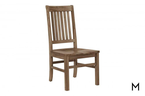 Maple Side Chair in Brown
