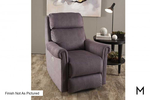M Collection Superstar Recliner in Taupe