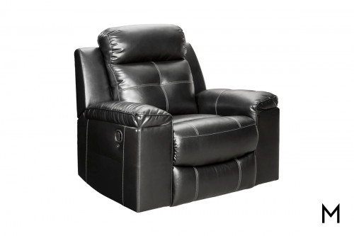 Kempten Rocker Recliner with LED Lighting