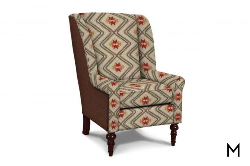 M Collection Redmond Wingback Chair