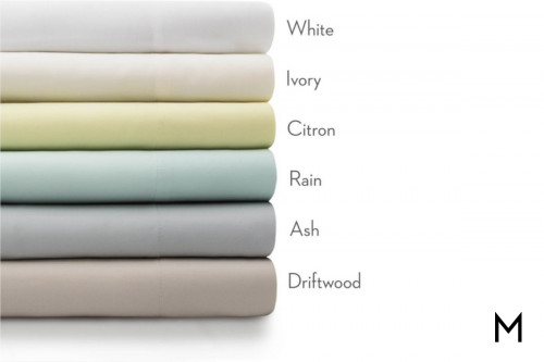 White Bamboo Twin Sheets