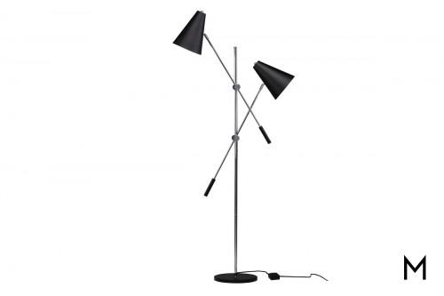 Two-Tone Floor Lamp