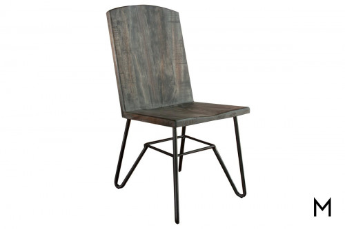 Moro Side Chair with Iron Base