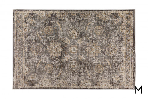 Mercier Pewter Area Rug 5'x8'