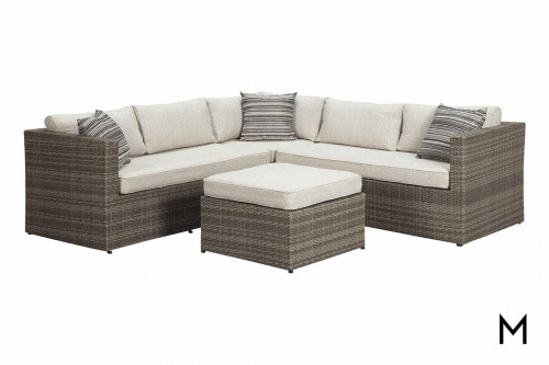Peckham Park Sectional with Ottoman