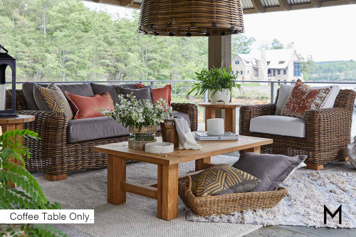 Rectangle Teak Coffee Table