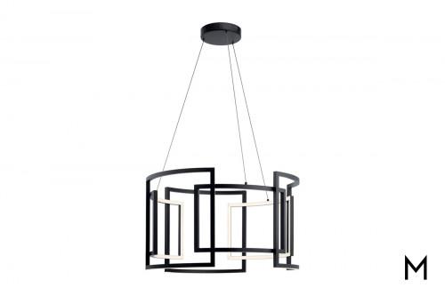 Modern Interwoven LED Chandelier
